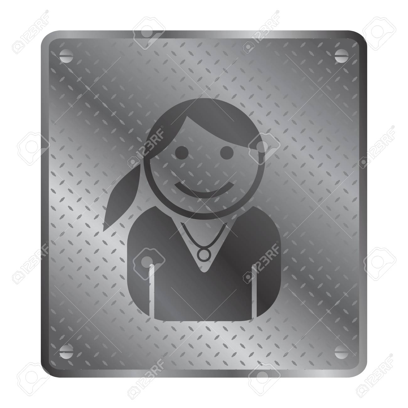 girl portrait Stock Vector - 21258647