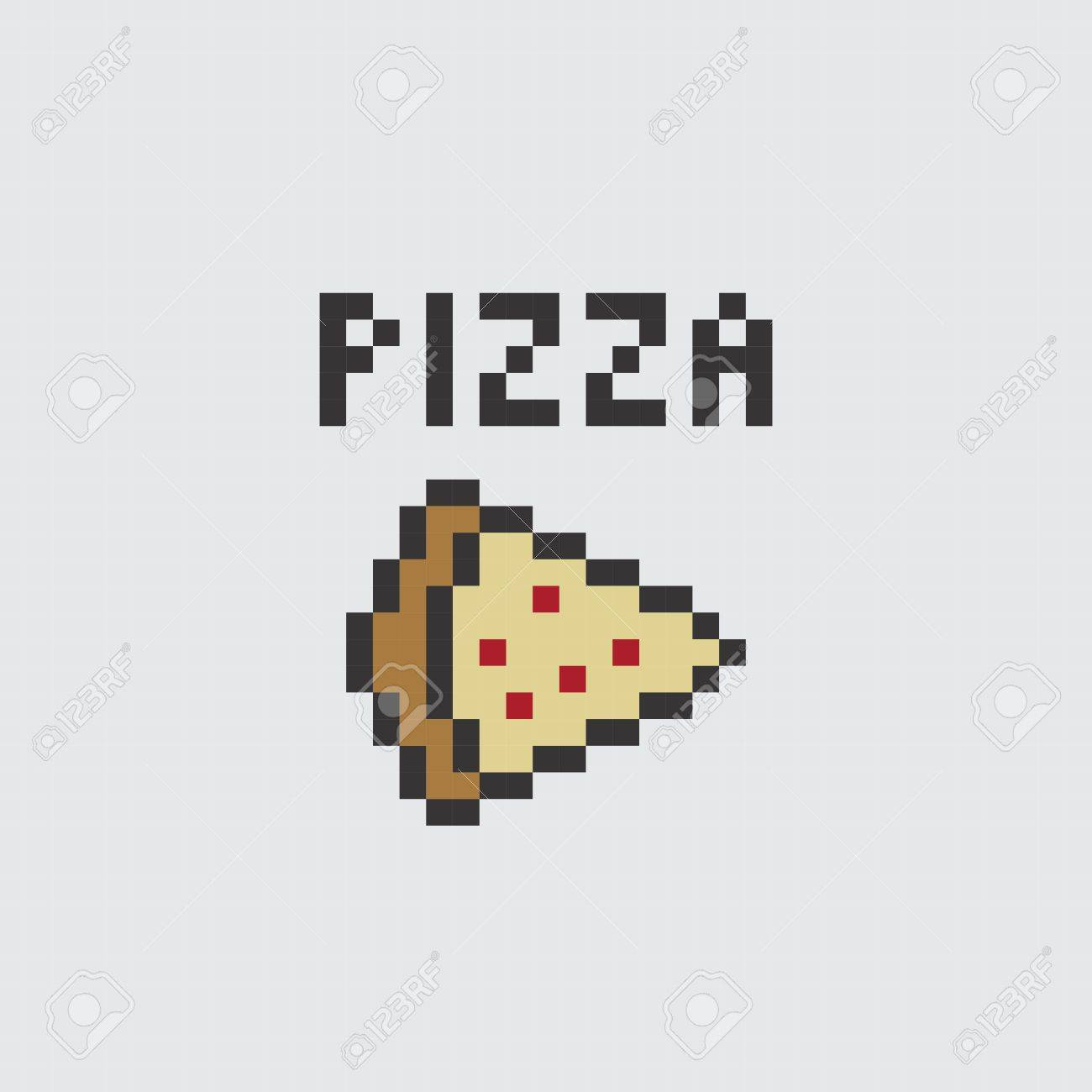 Pixel Art Food And Drink Theme