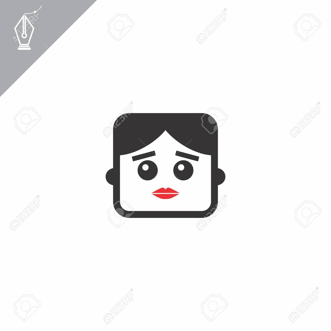 avatar portrait picture icon Stock Vector - 28008464