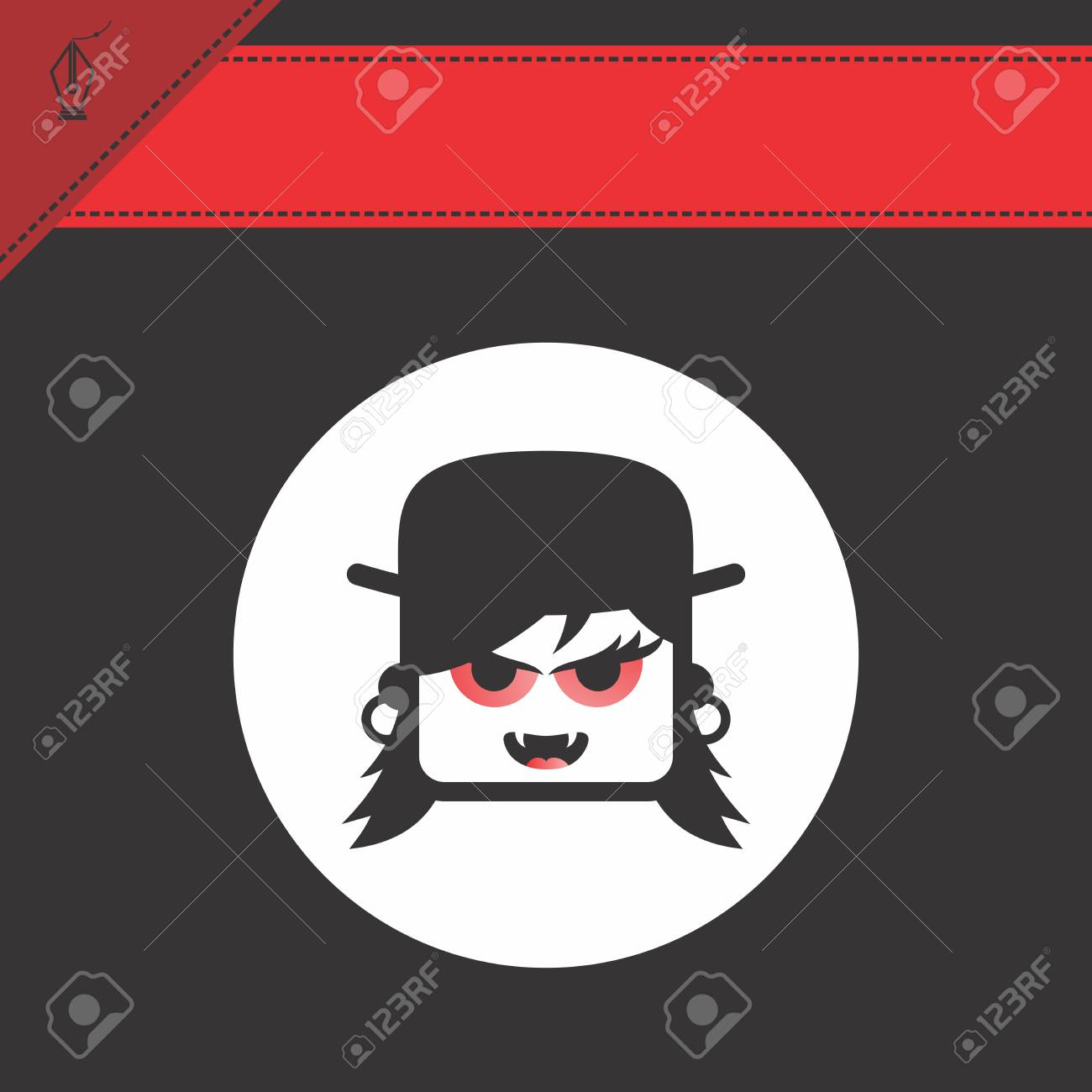 avatar portrait picture icon Stock Vector - 28009221