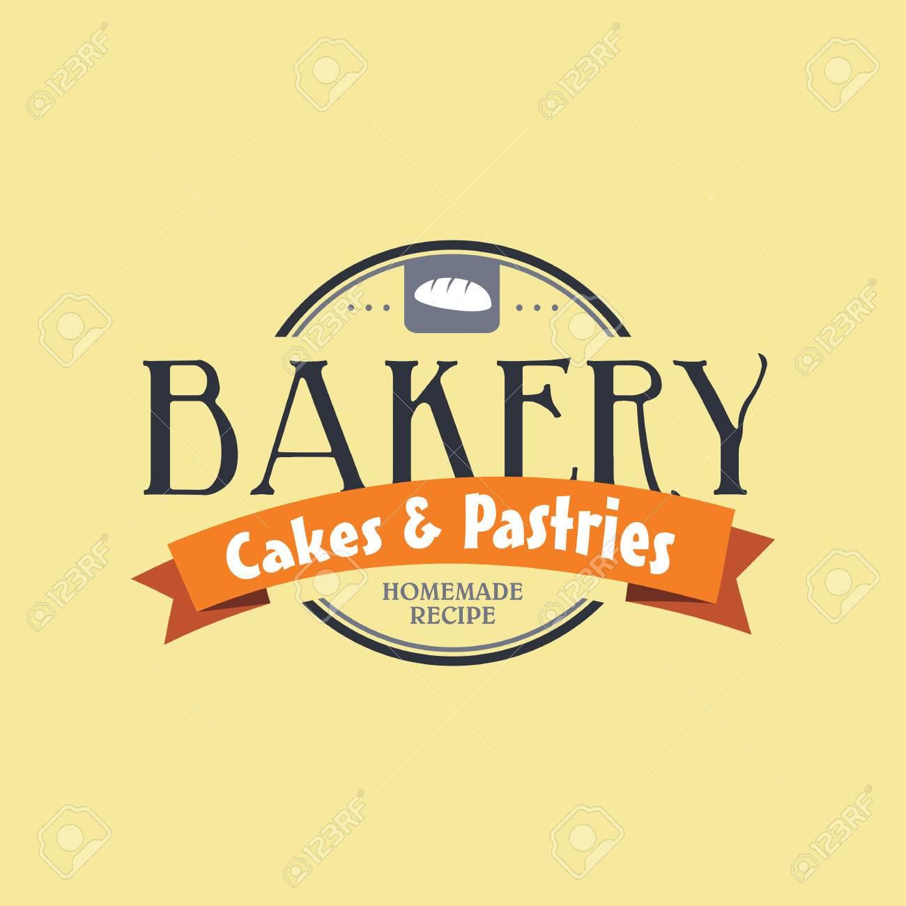 Pastelería Panadería Etiqueta Tema De La Ilustración Del Arte Del ...