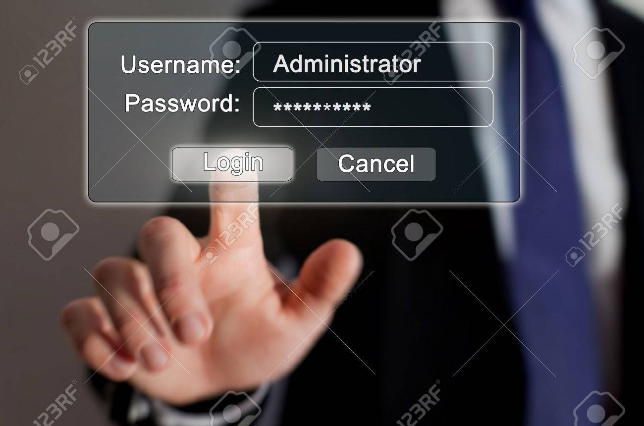internet security, authorization page online - 53094547