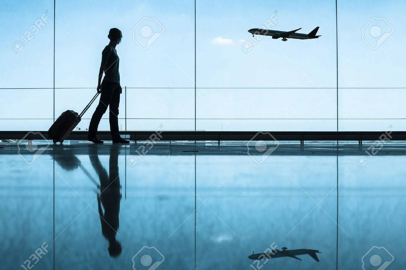 travel concept, people in the airport - 53103210