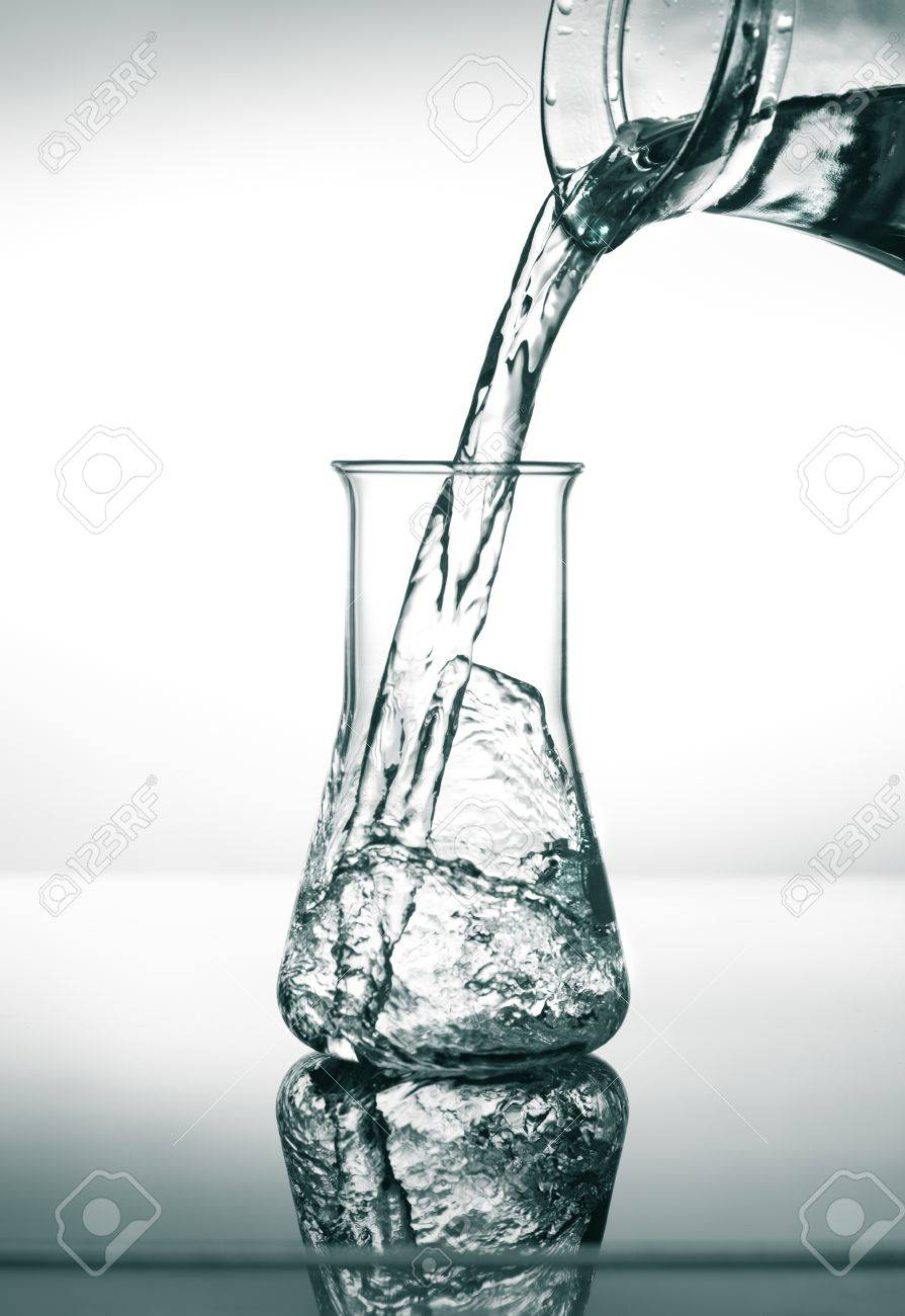 why is there no need to dry the conical flask between trials