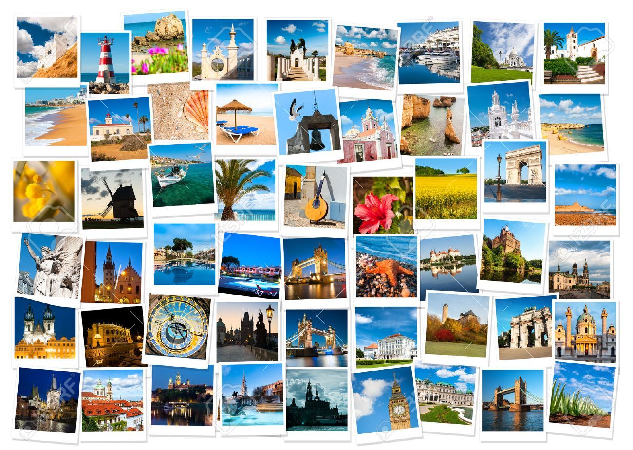 Travel In Europe And Nature Collage Stock Photo Picture And Royalty Free Image Image 22563923