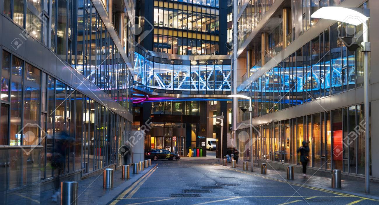 DUBLIN, IRLAND   30. JANUAR, 2017: Der Europäische Hauptsitz Von Google Auf