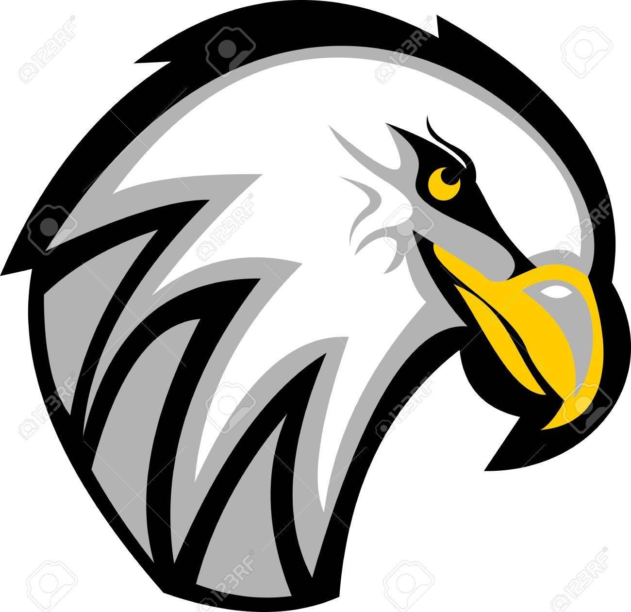 De Vecteurs Droits D'aigle Et Art Logo Clip Stock Tête Libres U4wfnYq