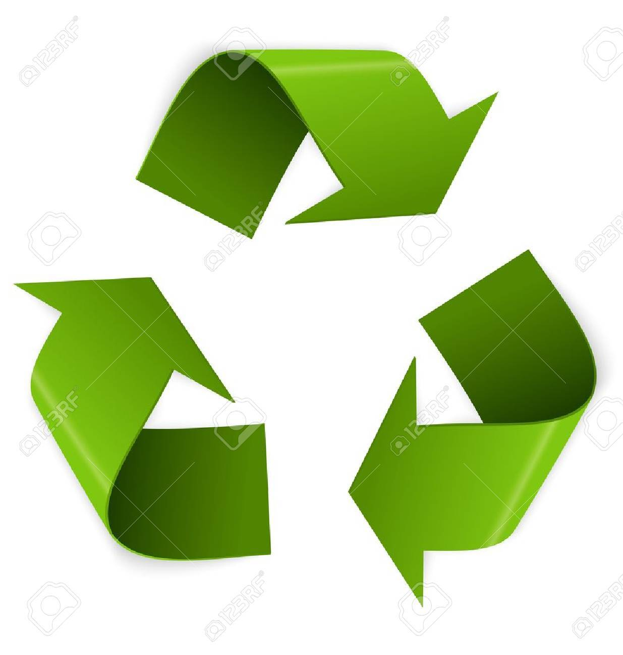 Vector illustration of 3d recycling symbol isolated on white vector illustration of 3d recycling symbol isolated on white stock vector 21030626 biocorpaavc Gallery
