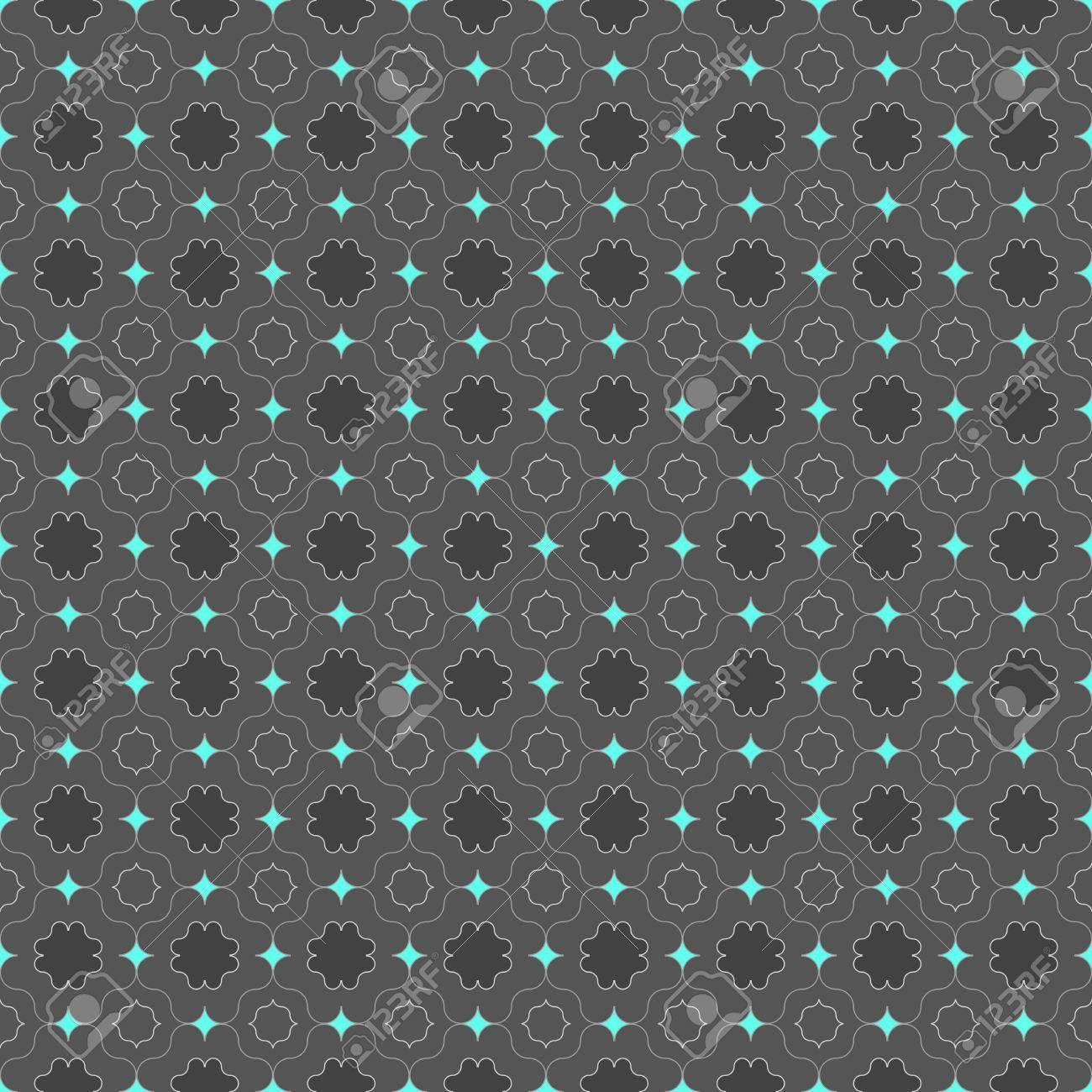 Couleur Gris Bleu Foncé seamless géométrique élégant. moderne motif abstrait. design plat texturé.  gris foncé de couleur bleu avec des carrés pointues vives.
