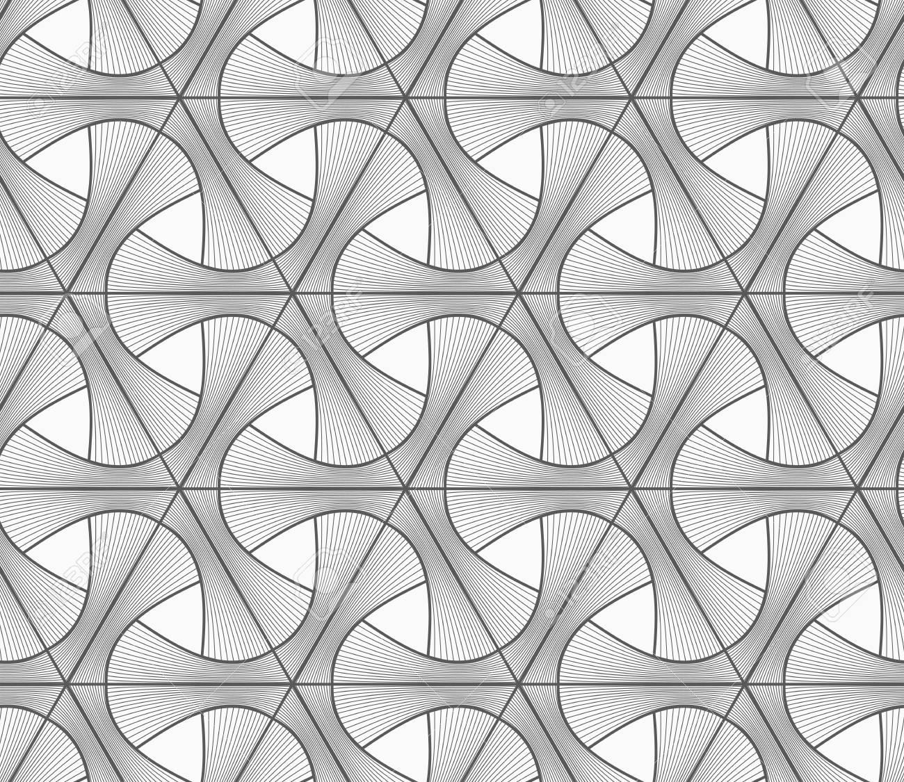 Motif Geometrique Seamless Dessin Geometrique Abstrait Gris