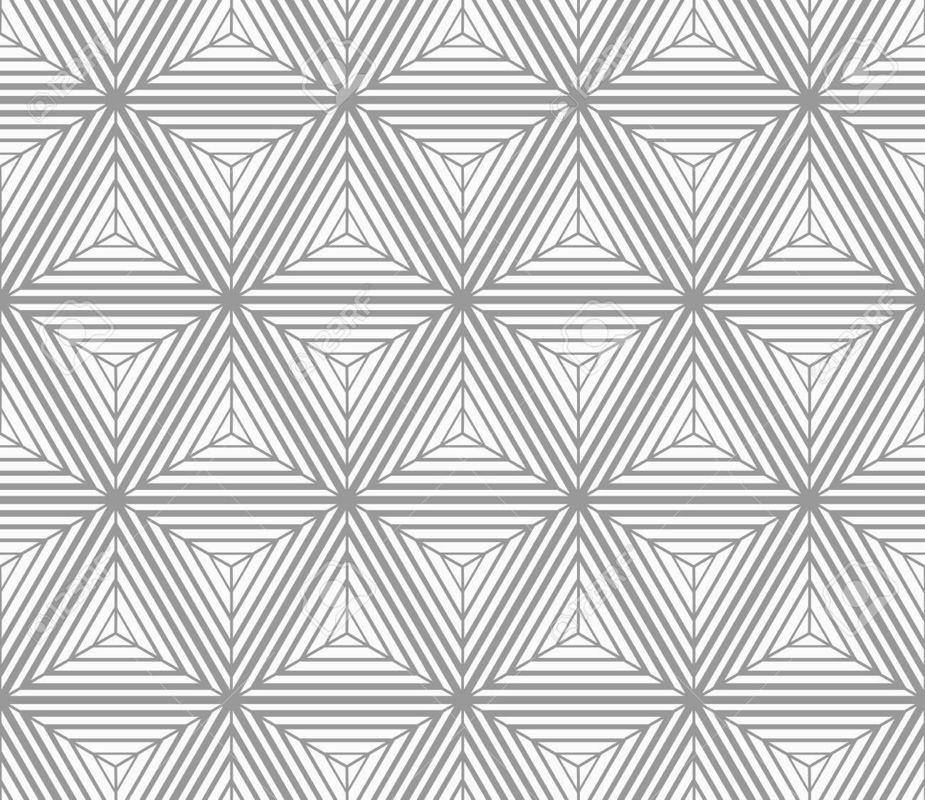 seamless geometric pattern gray abstract geometrical design flat monochrome designmonochrome gradually striped