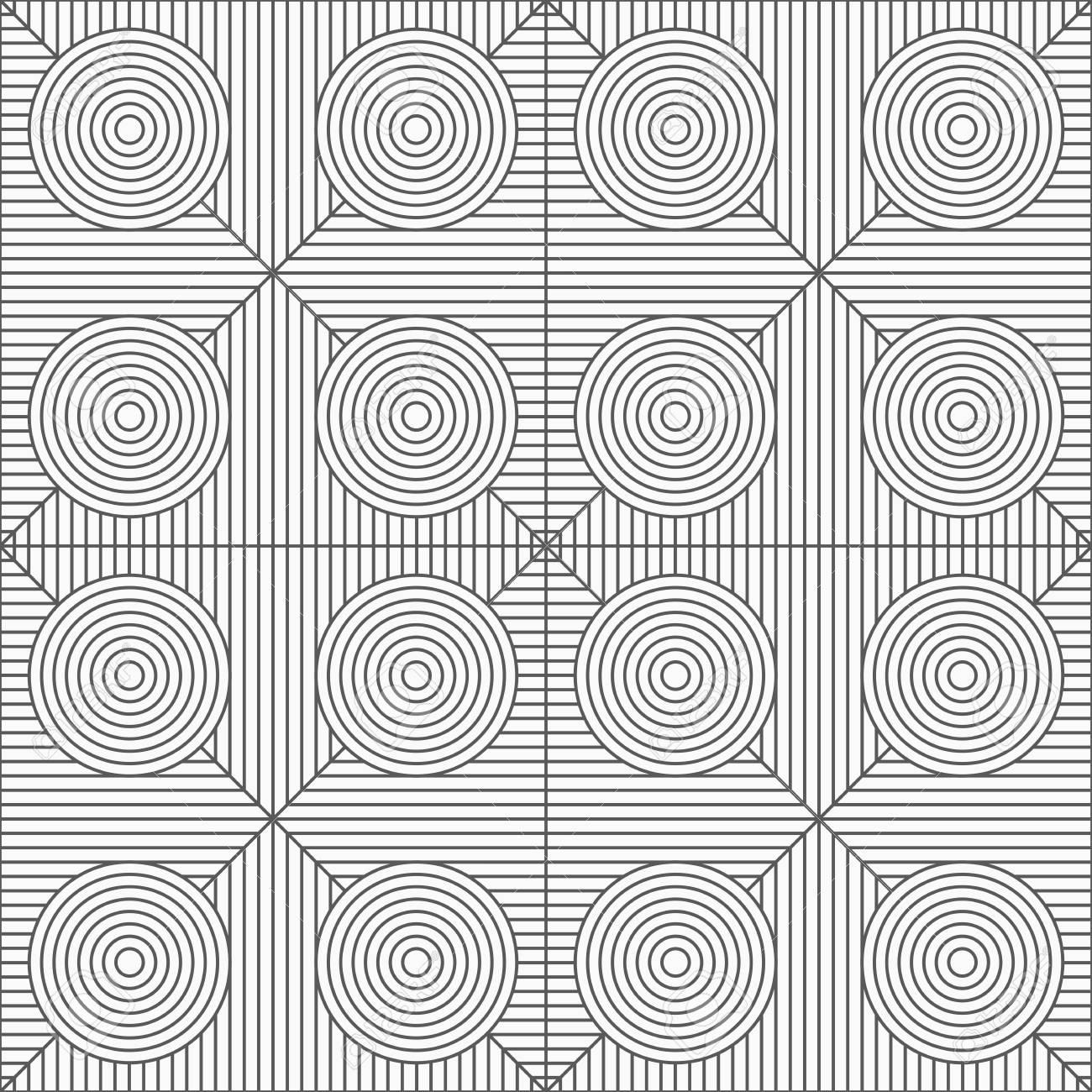 Gris Patrón Geométrico Sin Fisuras. Textura Monocromática Simple ...