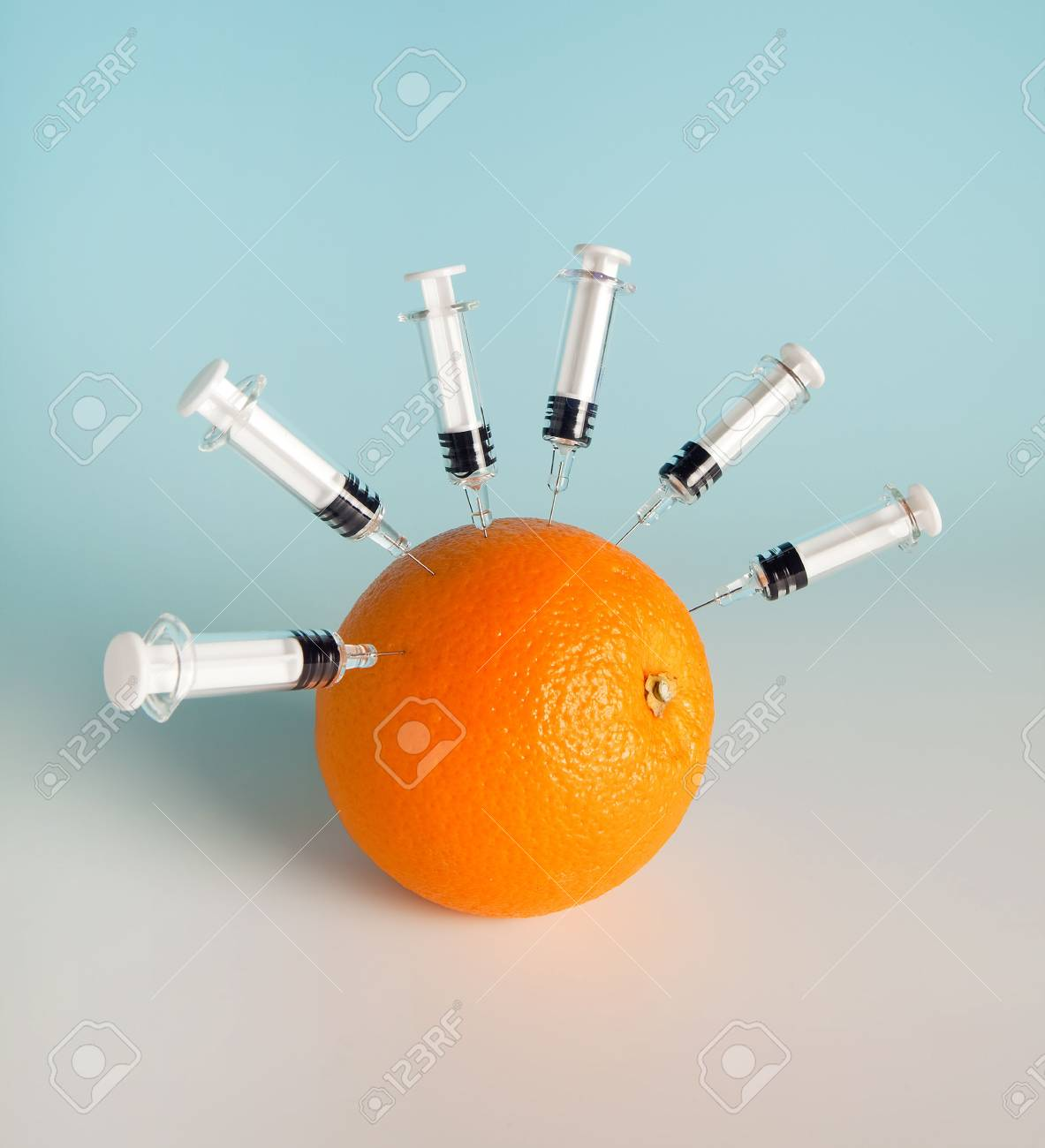 Vitamins and flu vaccines for protection against swine flu Stock Photo - 5428869