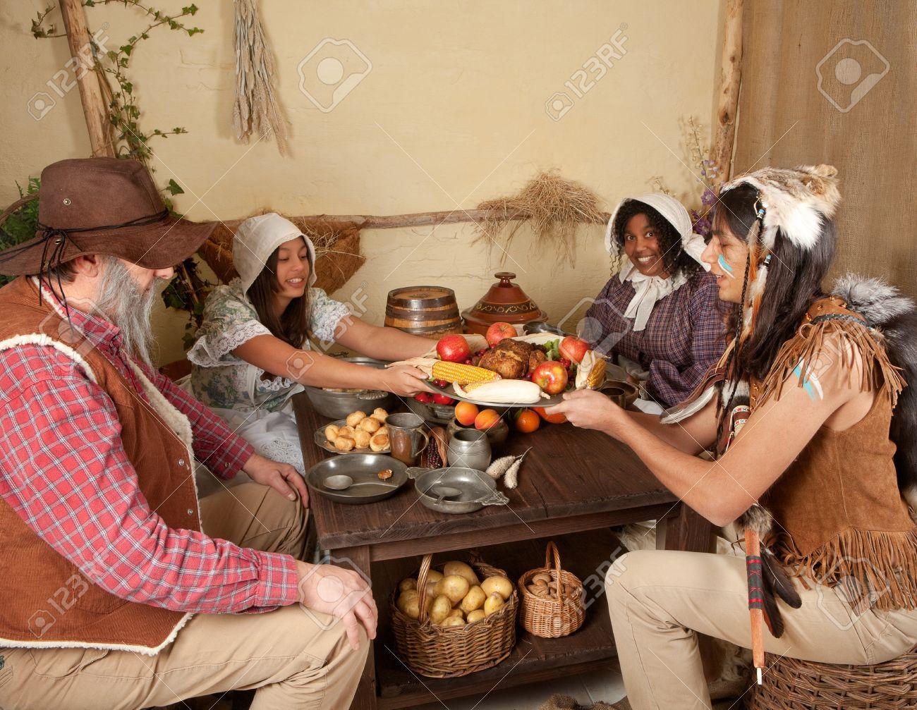 ワンパノアグ インドの巡礼者家...