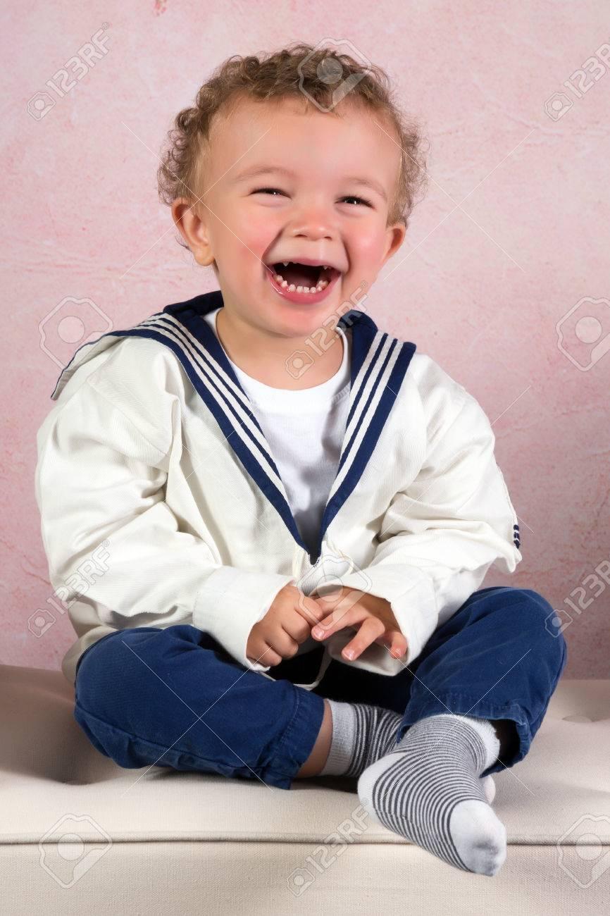Cute little victorian toddler boy dressed in vintage sailor costume Stock Photo - 24098060  sc 1 st  123RF.com & Cute Little Victorian Toddler Boy Dressed In Vintage Sailor Costume ...