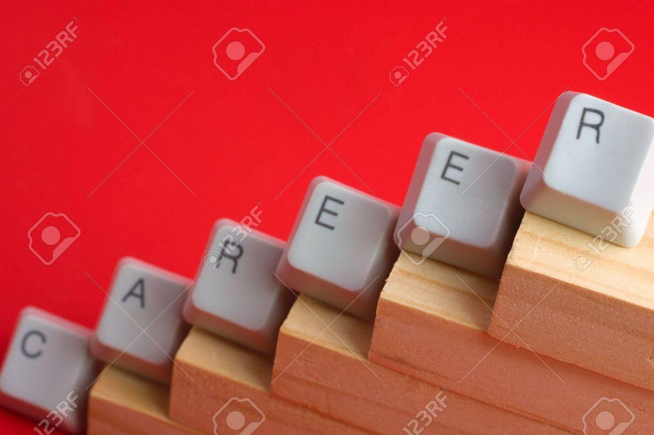 make a career career promotion steps made of keyboard keys stock make a career career promotion steps made of keyboard keys stock photo 4831134