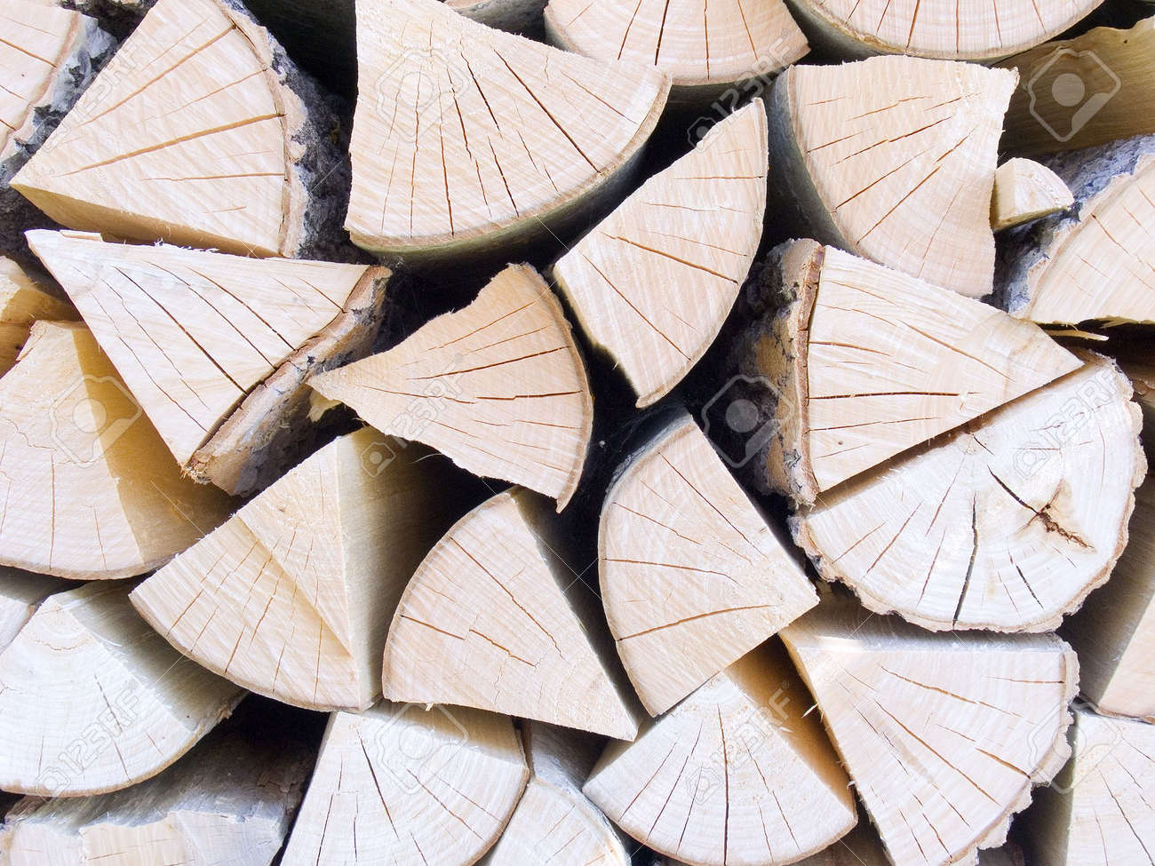 Stack with fire wood for a fireplace close up Stock Photo - 605246 - Stack With Fire Wood For A Fireplace Close Up Stock Photo, Picture