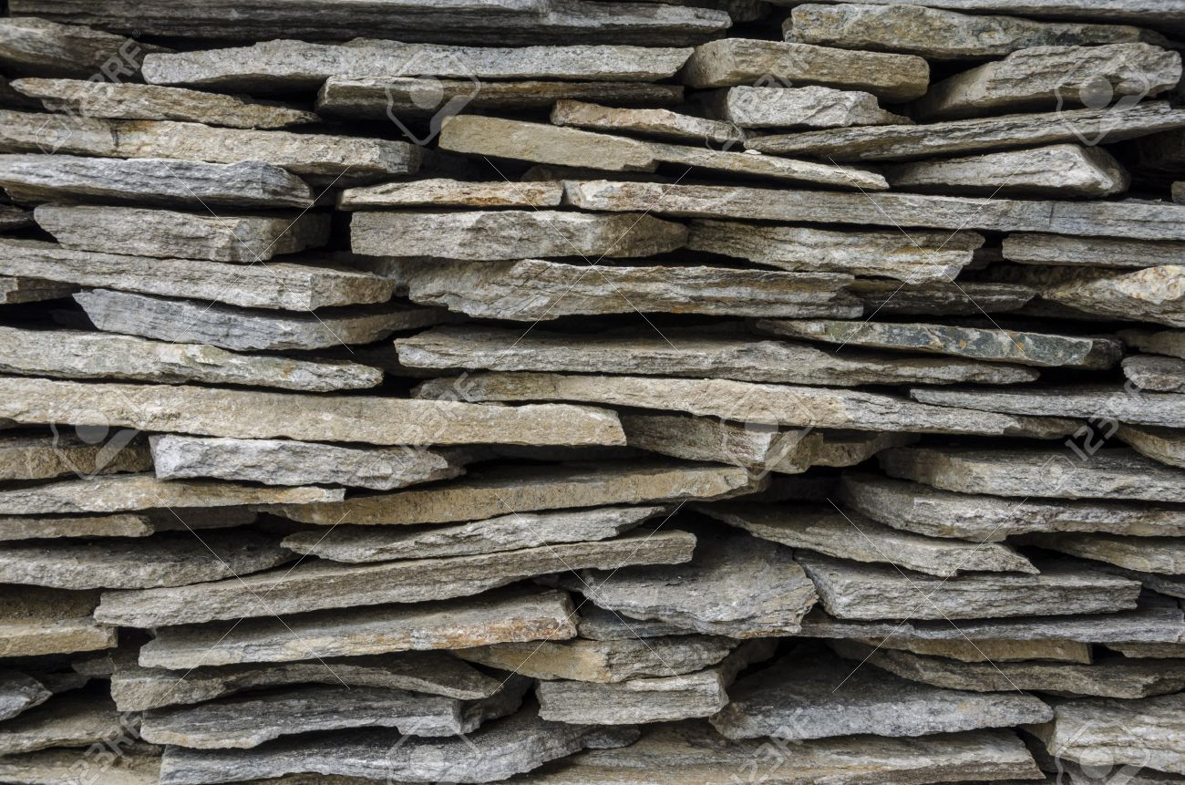 apilados baldosas de piedra para exteriores foto de archivo