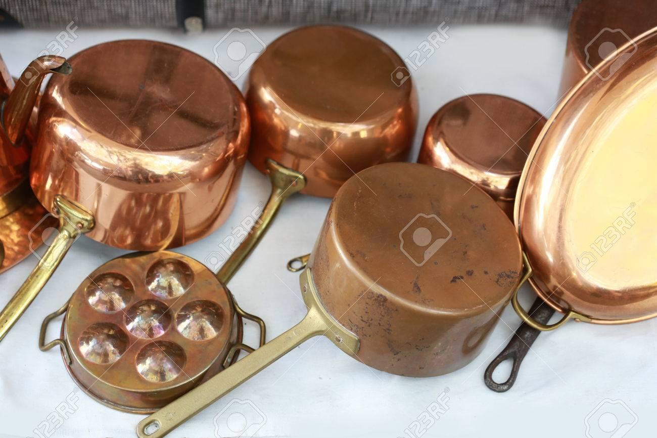 Fantástico Utensilios De Cocina De Cobre Imagen - Como Decorar la ...