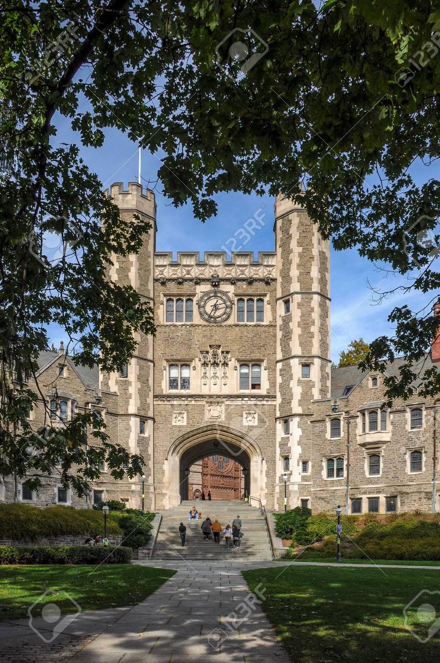 princeton university one of famous american universities stock