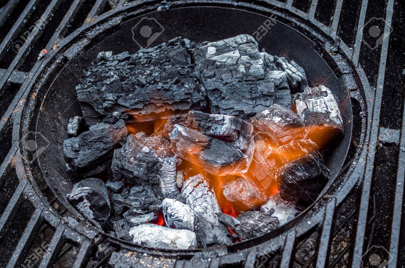 Starting Charcoal For Grill Cook Stock Photo Picture And Royalty Free Image Image 88123354