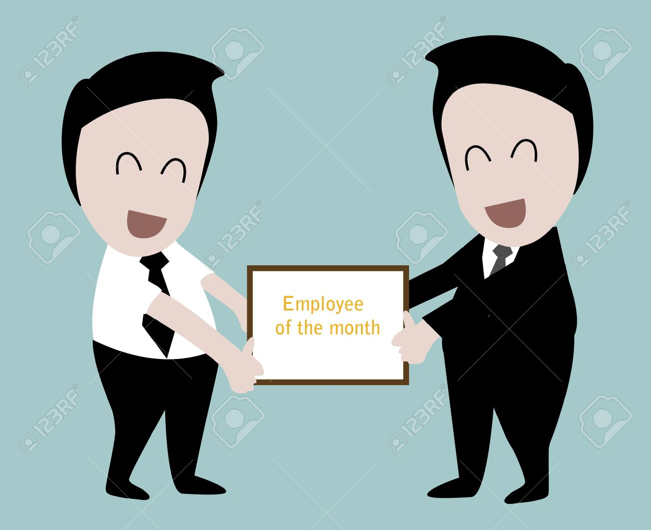 Employee Of The Month Royalty Free Cliparts, Vectors, And Stock ...