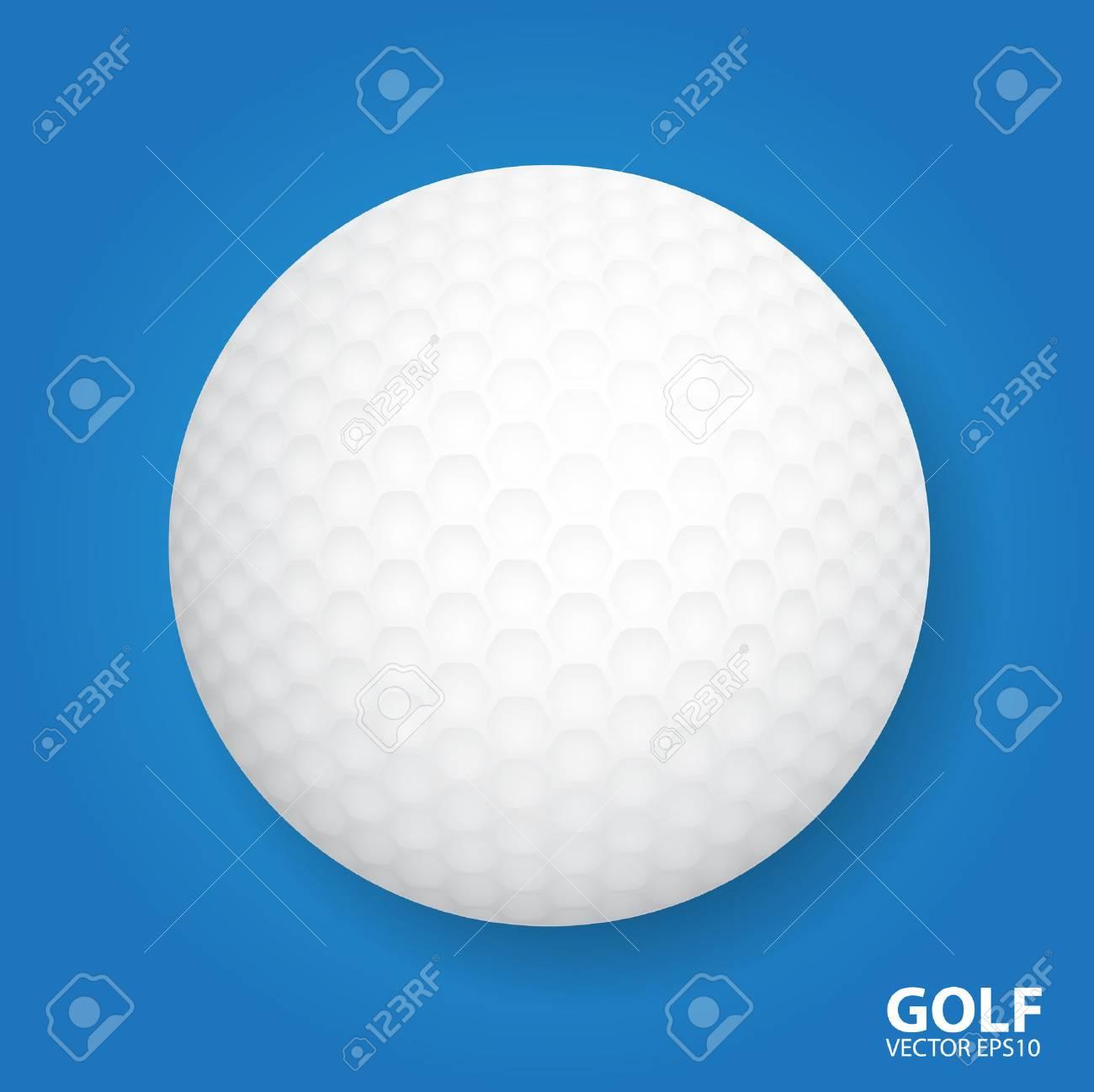 golf ball vector illustration royalty free cliparts vectors and