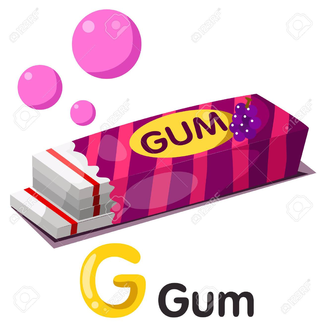 1 979 bubble gum stock illustrations cliparts and royalty free rh 123rf com guam clip art gun clipart images