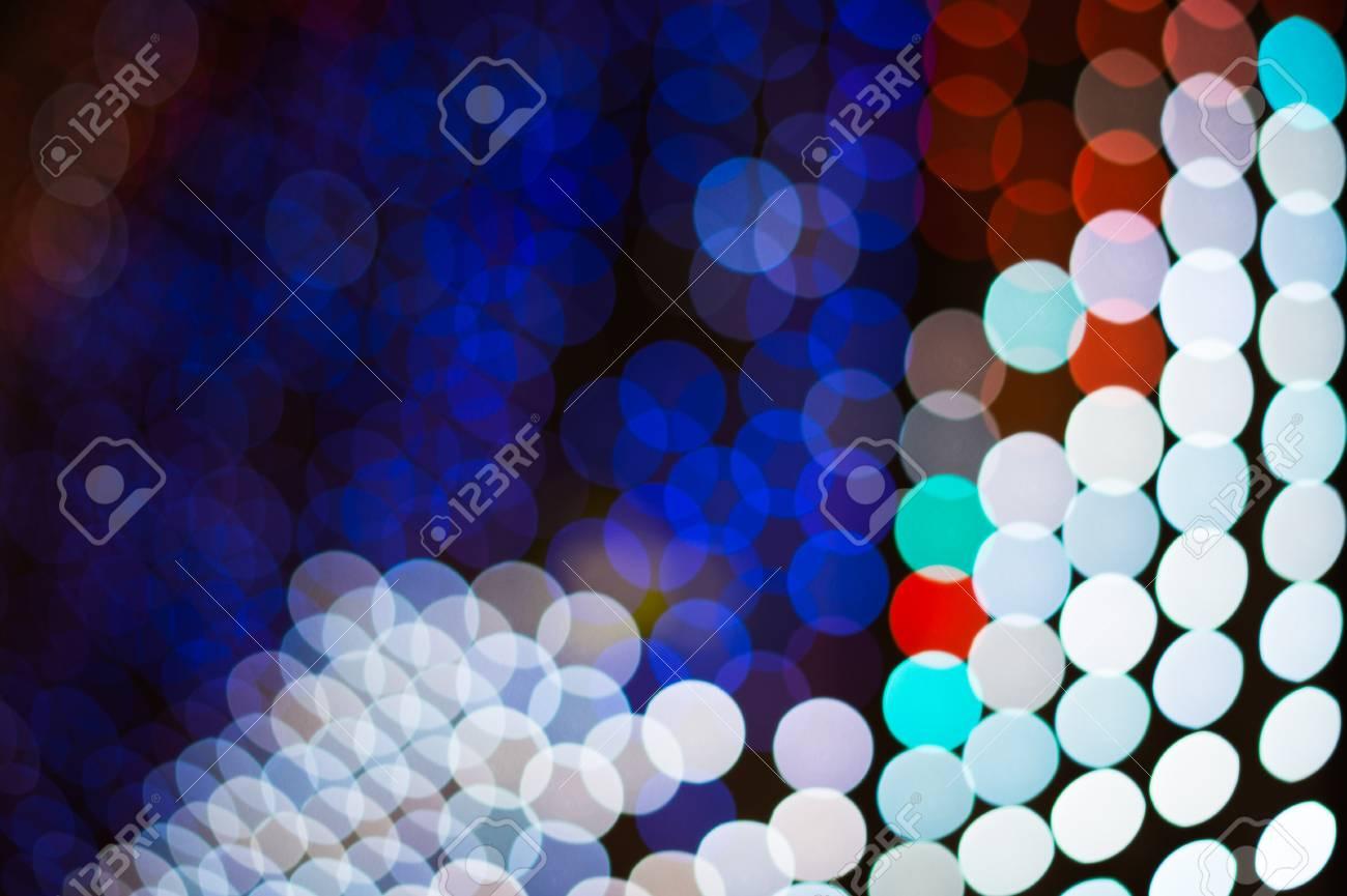 祝祭りやdj Edmダンスミュージックフェスティバルの背景を祝うために有用な抽象的なled照明ボケデジタル背景 の写真素材 画像素材 Image