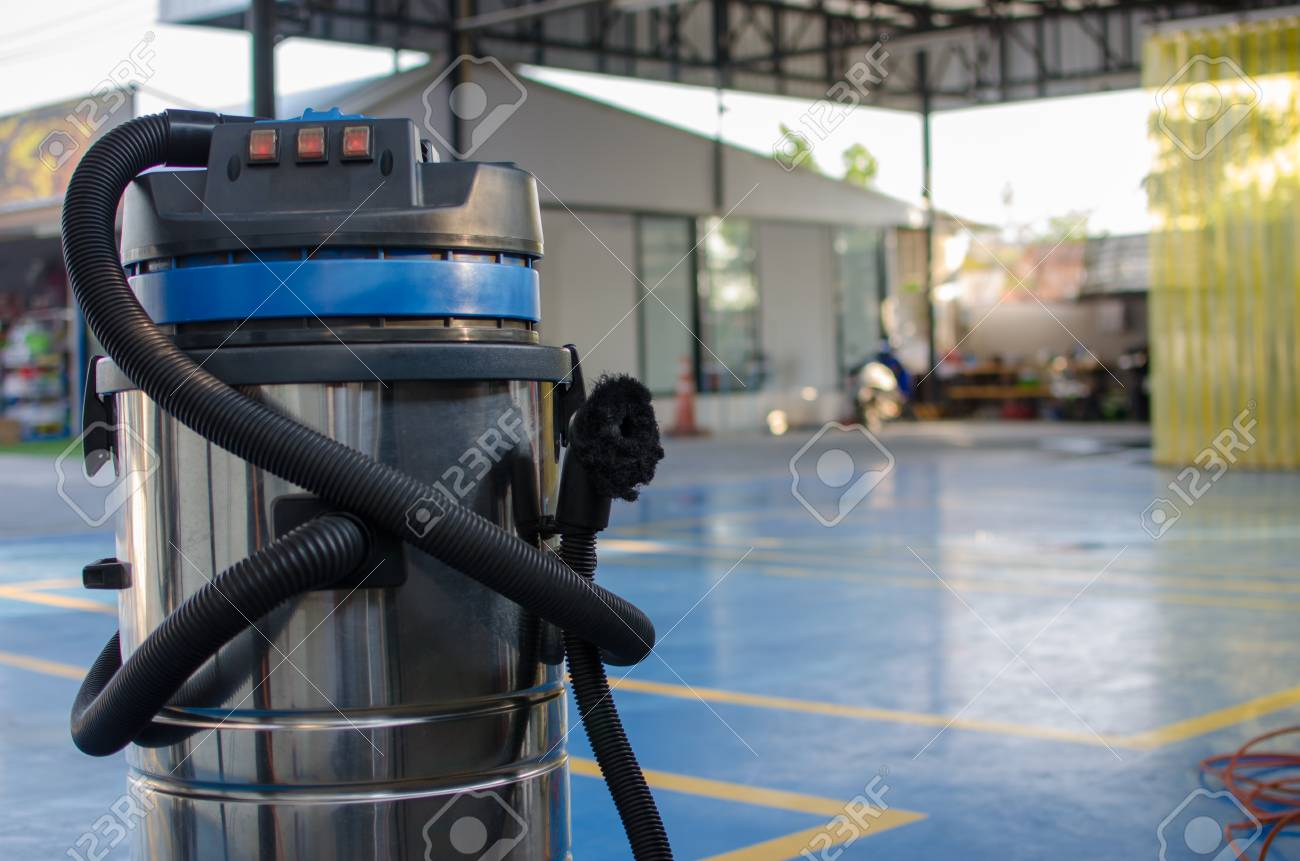 Car Wash Vacuum Cleaner >> Vacuum Cleaner At Parking Lot At Car Wash Stock Photo Picture And