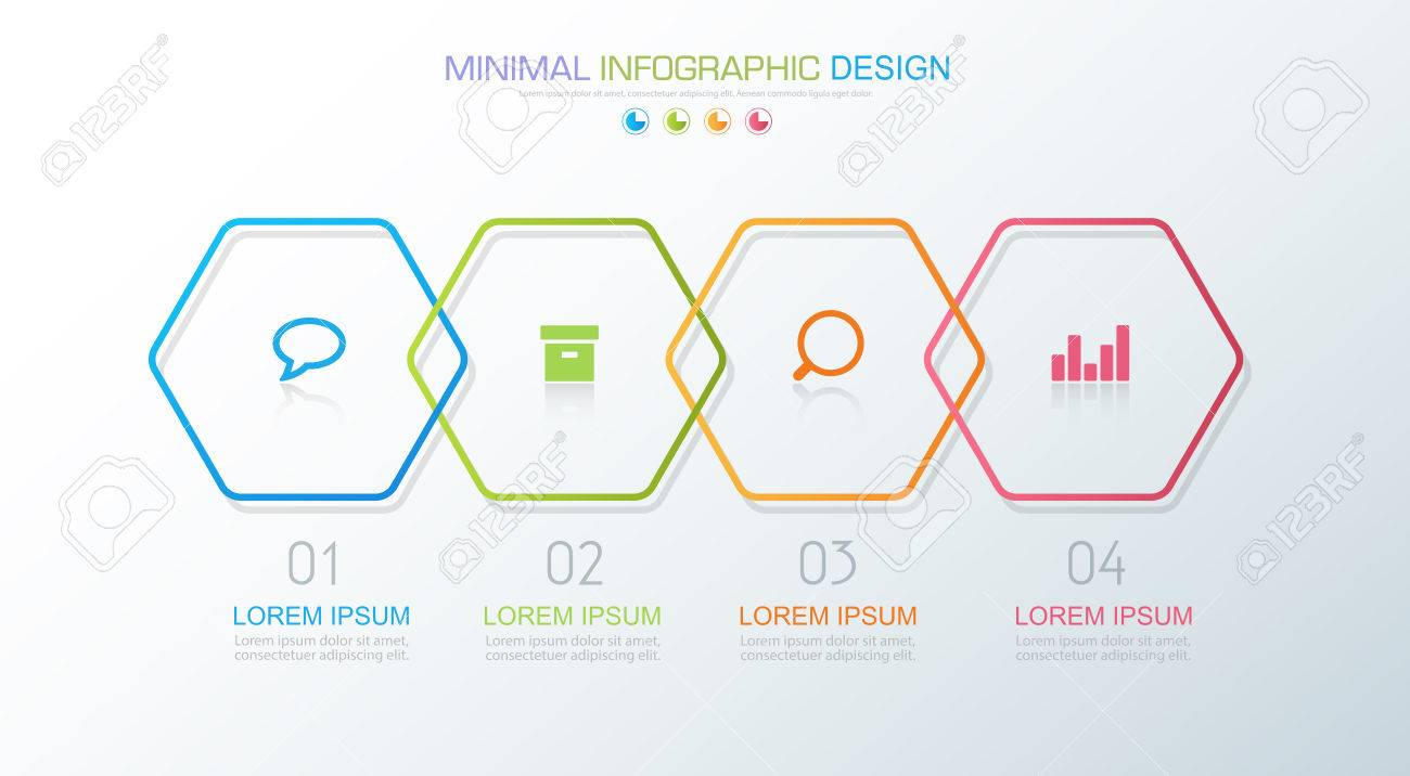 Infographic elements with business icon on full color background imagens infographic elements with business icon on full color background circle process or steps and options workflow diagramsvector design element eps10 ccuart Image collections