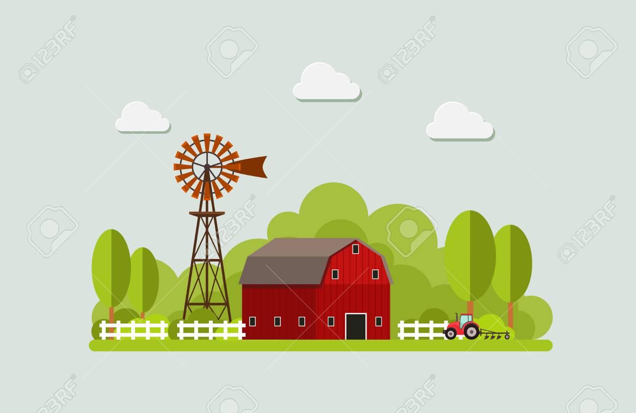 Agriculture And Farming Agribusiness Rural Landscape Design
