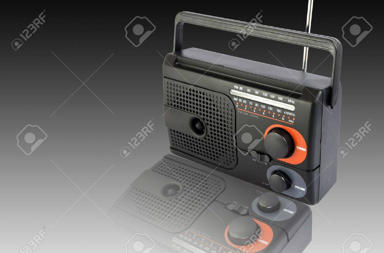 Radio black Stock Photo - 10128420