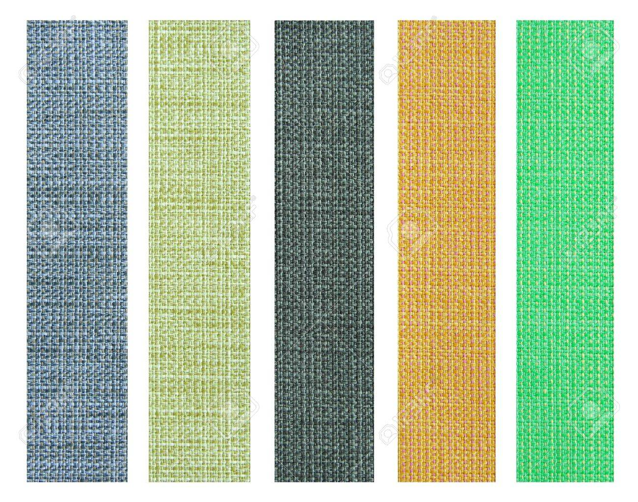 Fabric For Interior Design color fabric texture sample for interior design stock photo