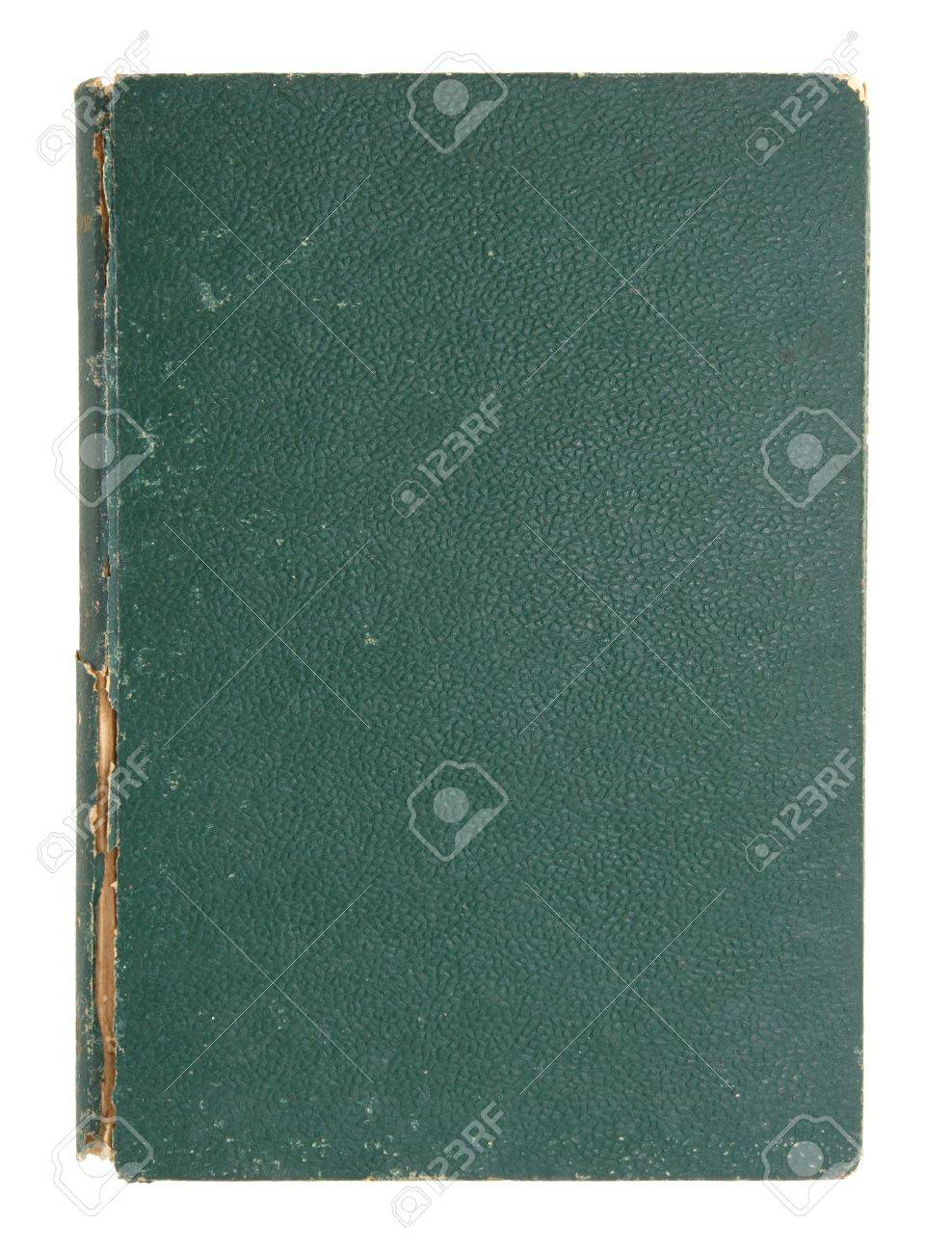 old leather book cover isolated on white Stock Photo - 10869019