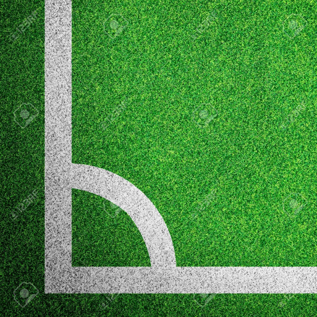 Corner of a soccer field Stock Photo - 13468050