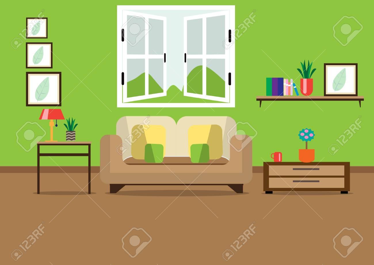 Living room design. - 105582662