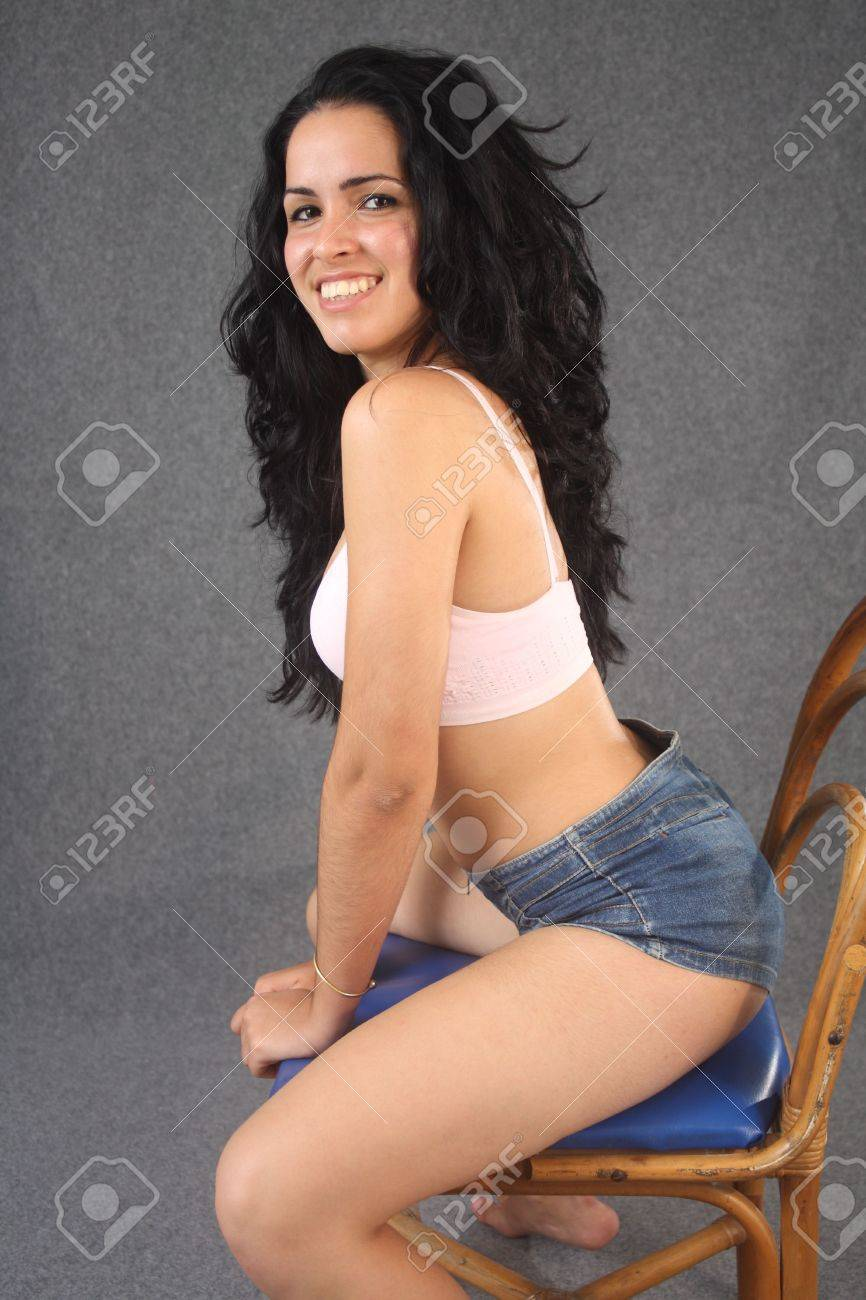 Sexy girls sitting in a chair galleries 744