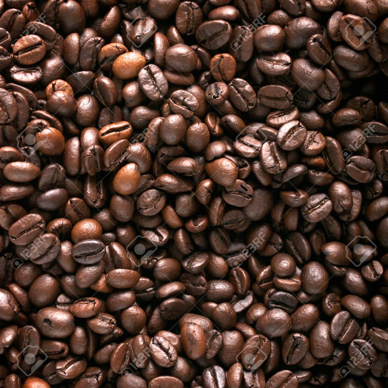 Coffee beans background Stock Photo - 11075670