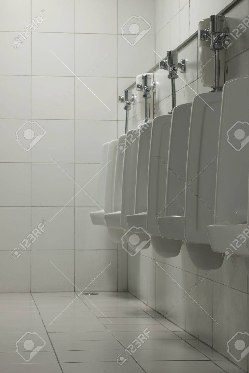 The men restroom with the sanitary wares. Stock Photo - 14809847