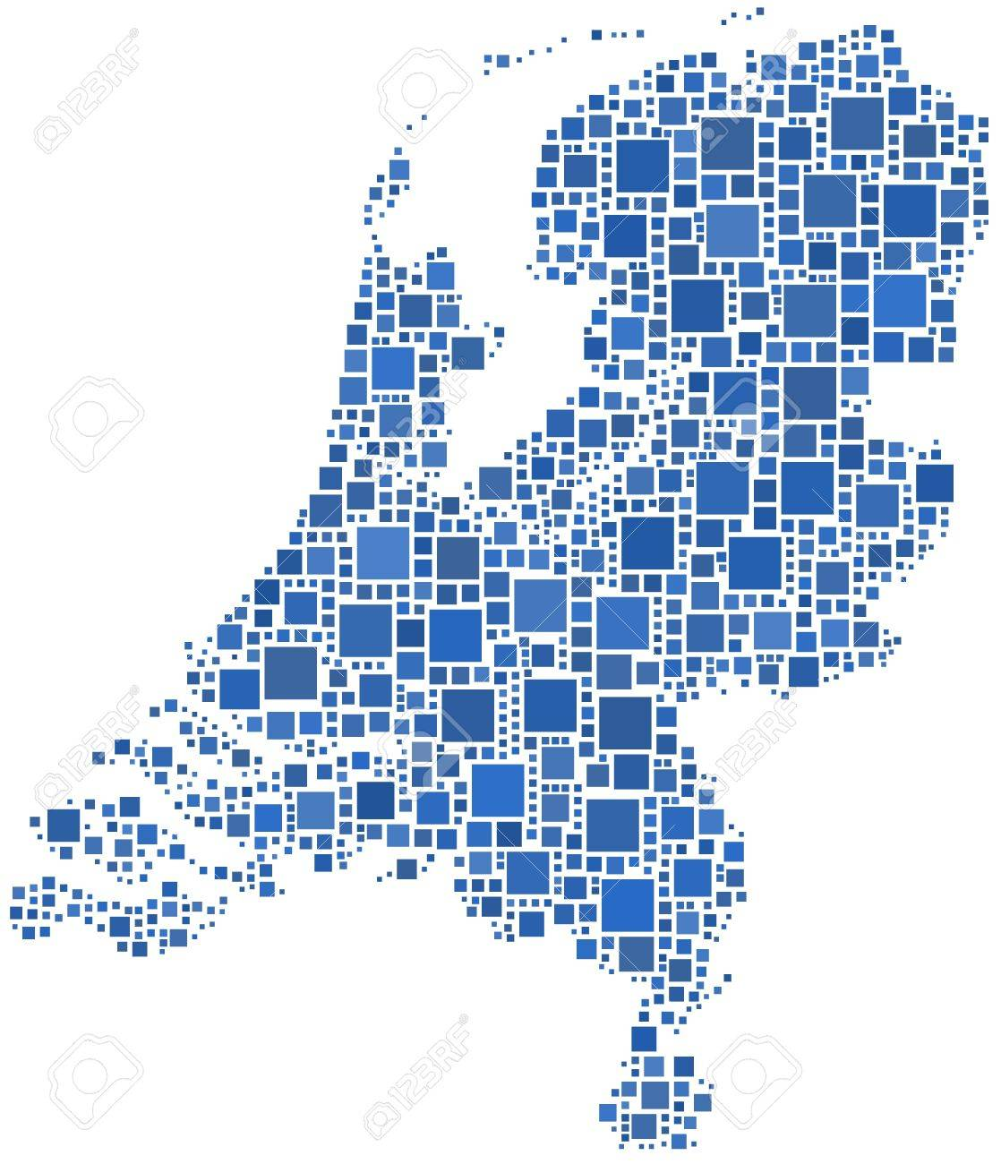 Holland Europe Map.Map Of Holland Europe Royalty Free Cliparts Vectors And Stock