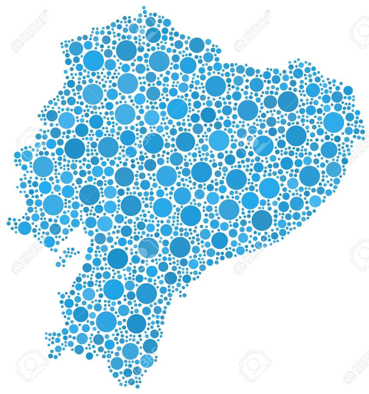 Ecuador Vector Map Map of Ecuador Latin America