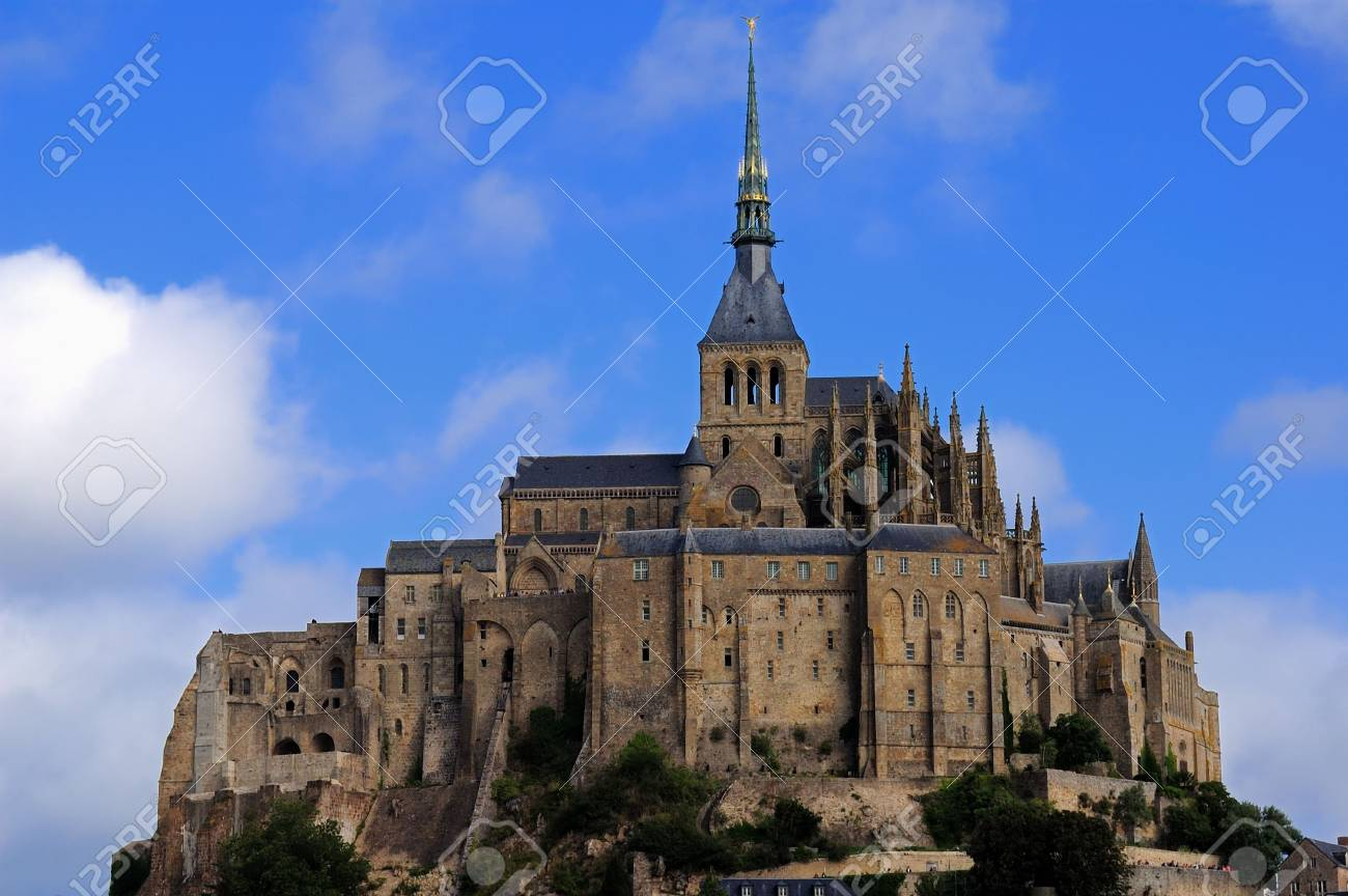 Mount Saint Michel Stock Photo - 3586645
