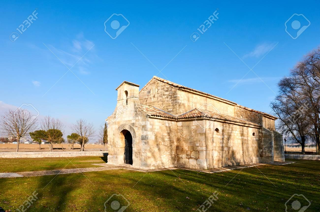 San Juan De Banos Visigothic Church In Venta De Banos Palencia