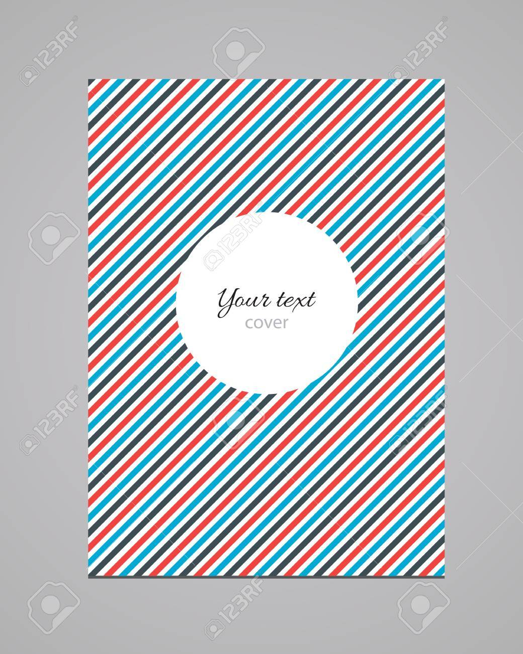 abstract colorful fashion book cover template royalty abstract colorful fashion book cover template stock vector 31636614