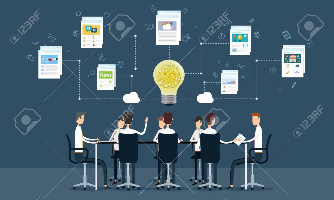 people business teamwork meeting and brainstorm - 35325901
