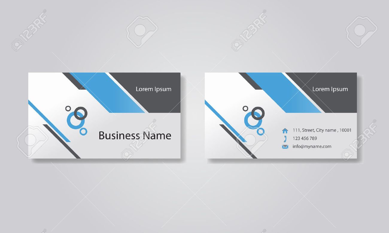 business card template design backgrounds royalty free cliparts