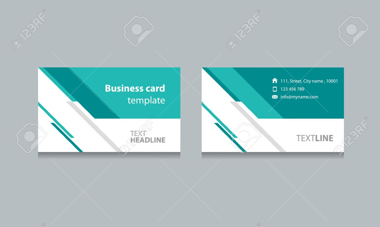 Business Card Template Design Backgrounds .vector Eps 10 Editable ...