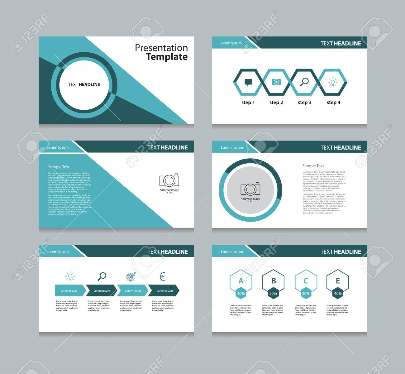 business template presentation slide background design royalty free
