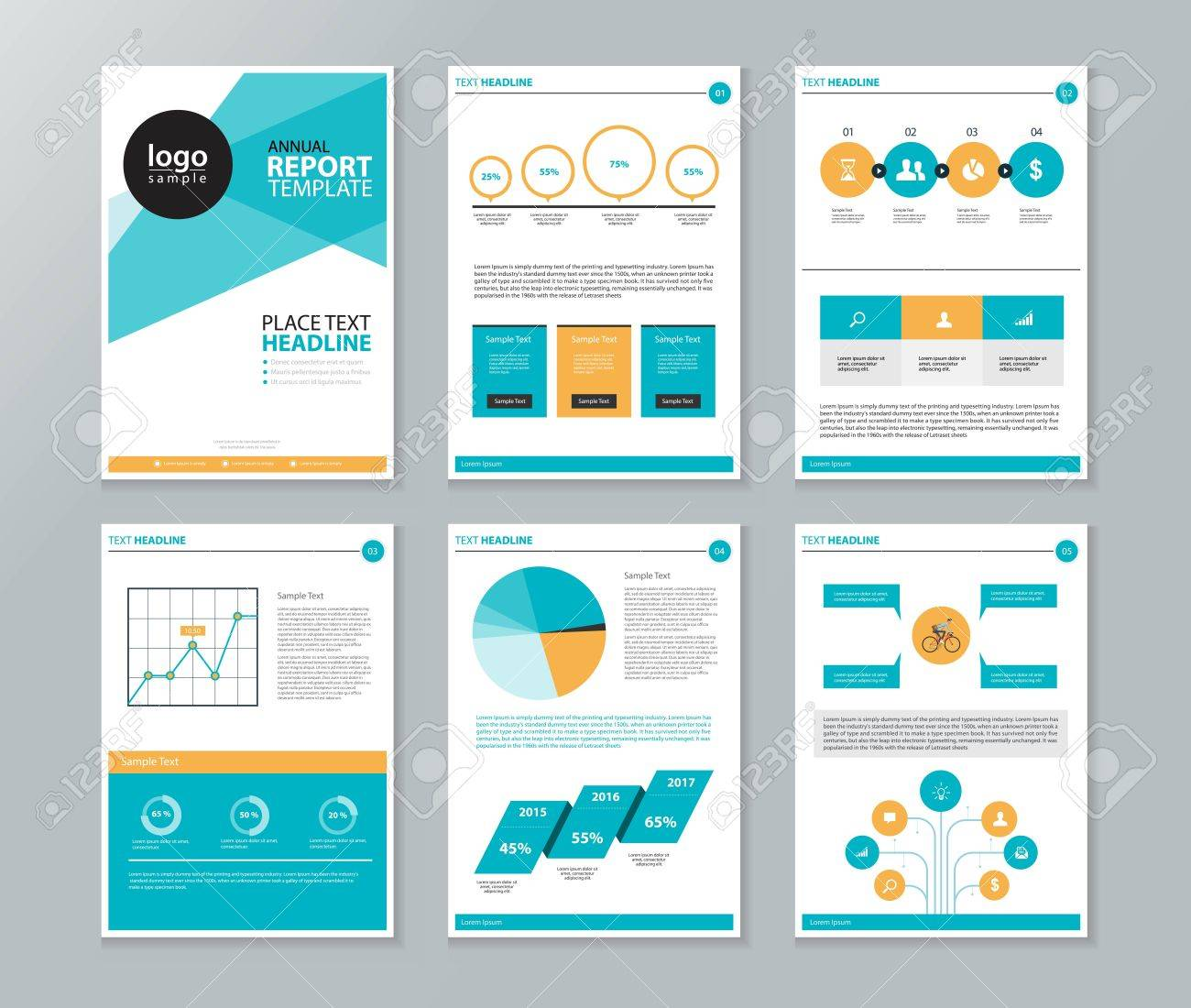 Company Profile ,annual Report , Brochure , Flyer, Page Layout ...